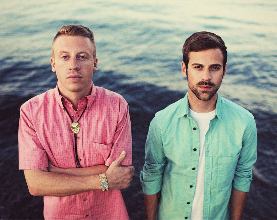 Macklemore (left) and Ryan Lewis (right) first collaborated in 2009.