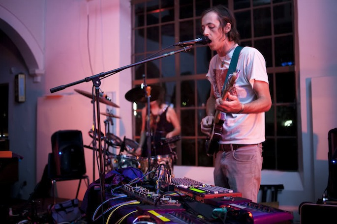 Deakin is well-known as Animal Collective's primary guitarist.