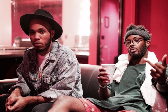 Anderson .Paak (left) worked with producer Knxwledge to release 2015's Link Up and Suede